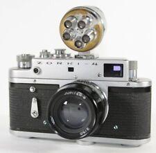 ZORKI 4 Body Soviet Russian 35mm Rangefinder Camera Jupiter-8 50mm f2 USSR