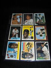 1996 Willie Mays Topps Reprint Set of 27