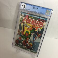 Avengers #96 CGC 7.5 Marvel 1972 Neal Adams Cover