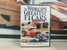ATLAS EDITIONS / PANINI  - THE WORLDS GREATEST F1 CARS -  SPECIAL EDITION   DVD