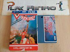 MSX HAL LAB. SUPER PLAYERS DUNKSHOT DUNK SHOT BUEN ESTADO SIN MANUAL