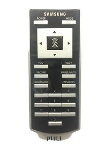SAMSUNG NEXUS 50 YP-X5Z XM Ready Satellite Radio  RemoteControl NEW