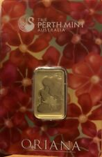 10g Gold Bar The Perth Mint Oriana .999% In assay !! Gold Is SKYROCKETING !! 🔥