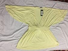 Women's Yellow top Uk 12