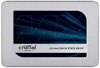 "Crucial MX500 250GB 2.5"" SATA III 3D NAND Internal Solid State Drive (SSD) CT250"
