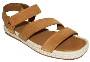 VINCE  Tan Suede Leather Sandals Shoes 8.5 M