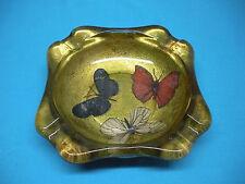 Vintage Butterfly Cigar Cigarette Ashtray ART NOUVEAU