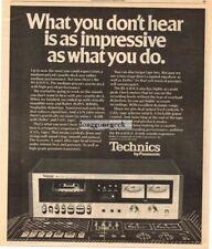 1976 Technics RS-630US Cassette Deck Stereo Hi-Fi Vtg Print Ad