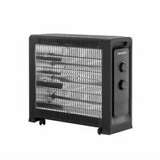 Devanti 2200W Electric Infrared Radiant Heater - Black