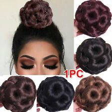 Fashion Curly Hair Makeup Hair Bun Chignon Claw Ponytail Hairpiece Extensions