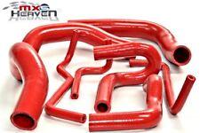 MAZDA MX5 MK2 tubo di raffreddamento) (8 Pezzi Set Rosso in Silicone 1998 > 05 * NUOVO *
