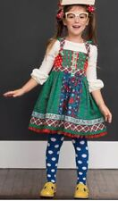 Matilda Jane Make Believe Holly Days Knot Dress Size 14 NWT In Bag Christmas