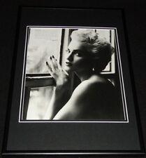 Madonna 1986 Framed 12x18 Photo Display