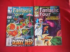 FANTASTIC FOUR 261 THE SEARCH FOR REED RICHARDS 1983 ET 385 DEADLY DEEP 1994