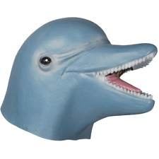 ADULT DOLPHIN MASK OCEAN SEA MARINE ANIMAL FISH COSTUME LATEX MASK