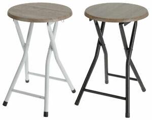 Klapphocker Holz - Holzhocker Klappstuhl Sitzhocker Hocker Stuhl klappbar rund