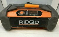 RIDGID Jobsite Radio Speaker Bluetooth Wireless Stereo Boom Box R84087 FM132