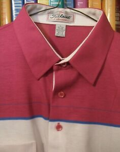 MENS ** GOLFING POLO SHIRT - TITLEIST COLLECTION ** SIZE LARGE - NEVER WORN