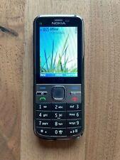 Nokia  C5-00 Grau / Silber (Ohne Simlock) Handy Smartphone Top Zustand!