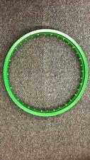 MOTORCYCLE ALUMINUM RIM ( COLOR GREEN  )160 X16 ARO PARA KARPATY  DELANTERO