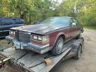 1980 Cadillac Seville  1980 Cadillac Seville Sedan Red FWD Automatic