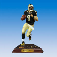 Danbury Mint Drew Brees Nfl New Orleans Saints Figure Figurine Nib *Rare*