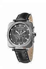 Roberto Cavalli R7271666025 Bohemienne Black Dial Chrono Mens Swiss Made Watch