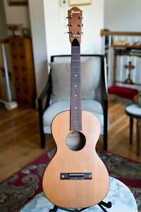 1970s Vintage Framus Model 73A Travel/Parlor Guitar
