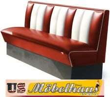 HW-180-Ruby American Diner Bench Seating Furniture USA Style Catering