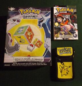 Pokemon Diamond and Pear Dice Game Pokemon Adventures: Black and White Game case