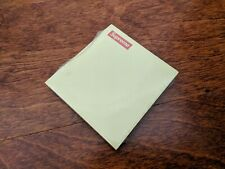 Supreme Post It Note Yellow Fw2014 100% Authentic Pad Sticky Box Logo Tnf Cdg