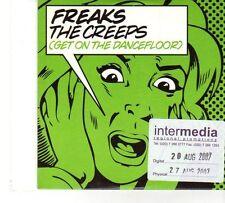 (FT720) Freaks, The Creeps (Get On The Dancefloor) - 2007 DJ CD