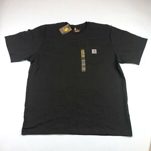 Carhartt Mens Brown Short Sleeve Original Fit T Shirt Size XL NEW