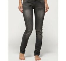 New Quiksilver grey skinny leg jeans W29  RRP £79
