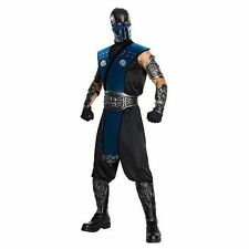 Rubies Costumes 211061 Mortal Kombat Subzero Adult Costume Blue One-size