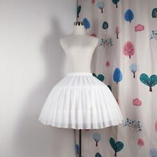 Women Lolita Skirts Vintage Petticoat Adjustable Gown Underskirt Tutu Skirt