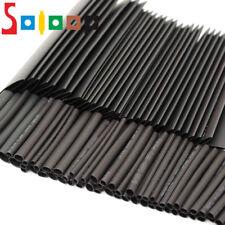 SOLOOP 127x Gaine Thermodurcissable Thermo Rétractable Ratio 2:1 Tuyau Tube Noir