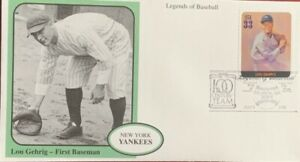 Mystic 3408 Baseball Legend New York Yankees First Baseman Lou Gehrig