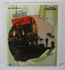 Vintage Alfred Hitchcock's Psycho CED Disc 1983