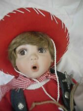 Adorable Kyle Howdy Partner Doll By Kay Mckee Porcelain Doll