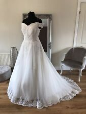 Bridal Gown/Wedding dress,Ball gown,off the shoulder ,Ivory,Size 20, BrandNew