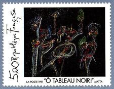 Timbre France Y&T 2731 Neuf** - Ô tableau noir - Roberto Matta - 1991