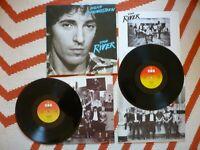 Bruce Springsteen The River Double Vinyl UK 1980 CBS A1B2C1D1 2 LP Complete EXC