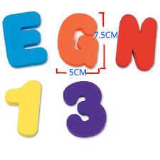 Kids Magnetic Alphabet Letter Maths Number Fridge Magnets Bath Toy Xmas Gifts AU