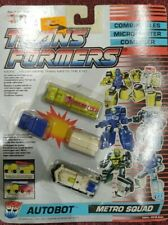 Transformers G1 Metro Squad. Sealed. Micromasters.