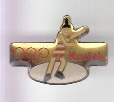 RARE PINS PIN'S .. OLYMPIQUE OLYMPIC ALBERTVILLE 92 PHOTO KODAK PATINAGE N°2 ~17