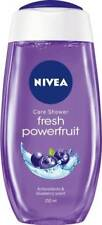2X Nivea Care Fresh Powerfruit Shower Gel With Blueberry Extract - 250 ML