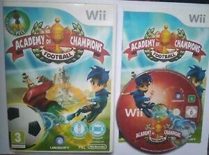 Academy of Champions (Nintendo Wii - European) football soccer game - Pelè
