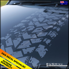 1000 x 400 Tyre Track Sticker Decal Mud Terrain Landcruiser Patrol Jeep Navara