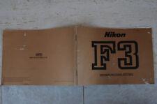 Nikon f3 Manual